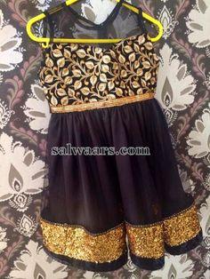 Black Kids Frock | Indian Dresses