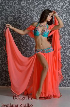 Алиса Алиса This color combo is awesome. Belly Dancer Costumes, Belly Dancers, Dance Costumes, Dance Outfits, Dance Dresses, Motif Corset, Harem Girl, Belly Dance Outfit, Tribal Dance