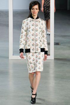 Derek Lam Fall 2012 Ready-to-Wear Fashion Show - Kinga Rajzak