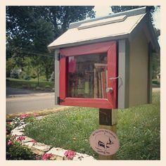 Tiny lending library!!!