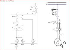 Dol power and control circuit | Refrigeration and aiconditioning | Circuit, Electrical wiring
