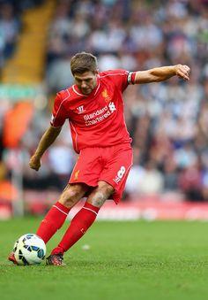 Steven Gerrard Photos - Liverpool v West Bromwich Albion - Premier League - Zimbio