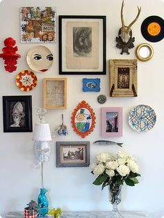 Record Wall Art on Pinterest | Record Wall, Vinyl Records Decor ...