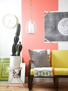 Are you still on-board with the color blocking trend? See what we thought about several interior examples.
