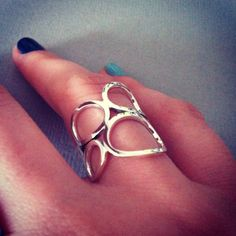 New ring done! Silver Wings, Jewelry Collection, Heart Ring, Contemporary, Rings, Ring, Heart Rings, Jewelry Rings
