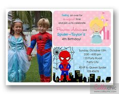 Twins or sibling combo party personalized birthday invitation twins or sibling combo party personalized birthday invitation printable digital file combo partyretro bikes style 13129 on etsy 1500 cad stopboris Image collections