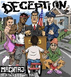 """DEF!NITION OF FRESH : Macntaj - Deception ft Donte Peace & Teza Talks... Seattle musical genius Macntaj kicks off the new year with the incredibly dope and personal new single """"Deception"""" featuring Donte Peace and Teza Talks."""