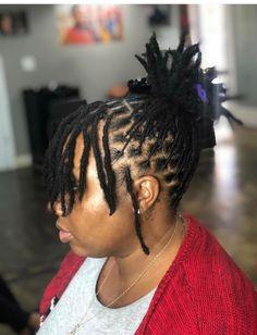 Short Dreadlocks Hairstyles, Short Dreadlocks Styles, Dreadlock Styles, Twist Hairstyles, Curly Hair Styles, Natural Hair Styles, Short Dread Styles, Locs Styles, Natural Hair Accessories
