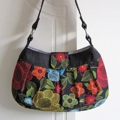 Buttercup bag pattern, love the colours by reva