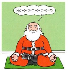 There are just way too many cute and cheery Santa yoga funnies out there, so we thought we'd bring some of our favorites together in one merry little post. For more on meditation check out www.EdensCorner.com - http://www.edenscorner.com/#!meditation/cw3w