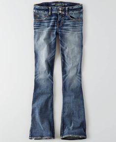 AEO Artist Jeans, Women's, Navy Blue