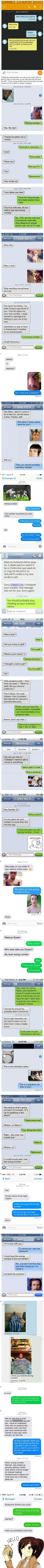Wrong number texts that are pure comedy - 9GAG