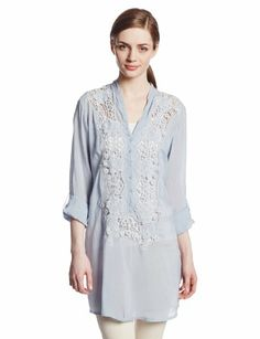 Johnny Was Women's Rose Trail Blouse