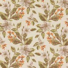 Arlinda_5640, kolorowe kwiaty i liście na jasnym tle