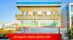 House of the Week: The Life Aquatic (VIDEO) Life Aquatic, Real Estate, Outdoor Decor, House, Home Decor, Marina Del Rey, Decoration Home, Home, Room Decor