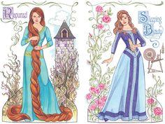 Fairy Tale Princesses Paper Dolls Dover Publications
