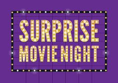 There's less than a week left to get your tickets for Surprise Movie Night and support our counselling work with local families who have experienced trauma!