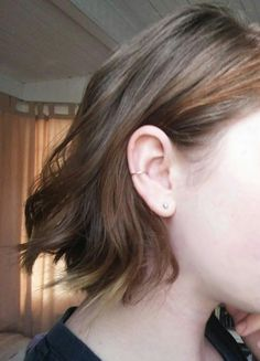 In love with this new conch piercing