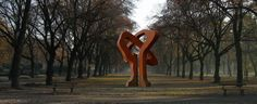 sculpture by Dudek Zbigniew 2012 in Lodz  http://www.dudek-art.eu/