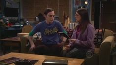 Big Bang Theory Season 5 episode 10--The Flaming Spittoon Acquisition  Tv.com rating--8.8  RJG rating-6    Can Sheldon get jealous about Amy?   unfortunately the episode doesnt get funny after the first 10min...more repetition of previously tried formulas