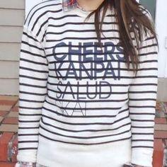 ONE LEFT! J. Crew Vintage CHEERS Sweatshirt. Price: $35 Size: S #poshmark #jcrew #cheers