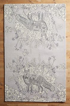 Willowherb Rug #anthropologiefor the wall?