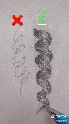 Girly Drawings, Art Drawings Sketches Simple, Pencil Art Drawings, Realistic Drawings, Cool Drawings, 3d Art Drawing, Drawing Tips, Drawing Journal, Sketching