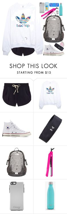 """""""Untitled #545"""" by eemsles ❤ liked on Polyvore featuring Victoria's Secret, adidas, Converse, Under Armour, The North Face, Lorion, Bar III, women's clothing, women and female"""