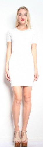 Torn by Ronny Kobo Candy Knit Dress - White $202