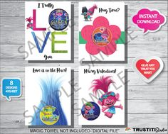 8 Best VALENTINES PRINTABLES images in 2017 | Card stock