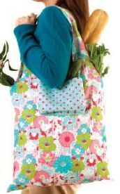 Reversible Market Bag Pattern & Tutorial (PDF file) by {Fabric Editions}