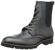 Calvin Klein Men's Gale Boot,Black/Charcoal,10.5 M US - http://authenticboots.com/calvin-klein-mens-gale-bootblackcharcoal10-5-m-us/