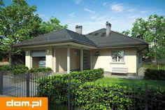 DOM.PL™ - Projekt domu AT Tip Top Bis CE - DOM AT3-35 - gotowy koszt budowy Bud, Gazebo, Outdoor Structures, Tips, Houses, Home, Kiosk, Pavilion, Cabana