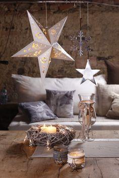 Schöne Deko-Ideen für eine zauberhafte Weihnachtszeit gibt es jetzt bei Ernsting's family #weihnachten #deko