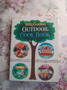 Vintage 60s kitsch Betty Crocker's Outdoor Cookbook by AnarasAttic, $15.00