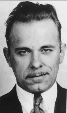 John Dillinger-- literally JUST watched Public Enemies lol so weird how u see stuff like this after
