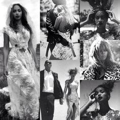 Beyonce Jayz - On The Run Collage