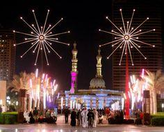 Sharjah Light Festival.