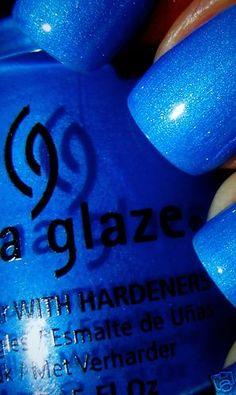 """China Glaze Nail Polish """"SPLISH SPLASH"""" #chinaglaze"""