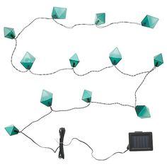 4er-Set Solar LED-Erdspieß CANDLE dunkelgrau
