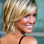 thin hairstyles for short blonde hair #12