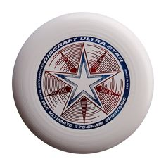Ultra-Star 175G Ultimate Disc - White. The world standard for the sport of Ultimate. Official and exclusive disc of the USA Ultimate Championship Series since 1991. Listed among the 31 things all men should own by Esquire magazine. 175 grams. Foil color on the disc will vary.