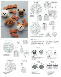 Diy Sewing Projects, Crochet Projects, Book Crafts, Diy And Crafts, Knitted Animals, Crochet Dolls, Crochet Patterns, Miniatures, Tapestry