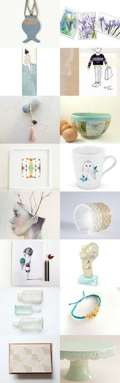 Lovely pastel by Shlomit on Etsy--Pinned with TreasuryPin.com