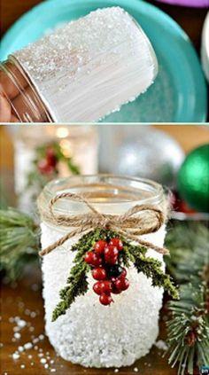Ha van néhány befőttesüveged, vedd elő, mert ebből készül a legbámulatosabb ünnepi dekoráció! - Ketkes.com