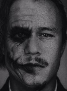 Joker vs Heath Ledger #Joker #HeathLedger #twoface