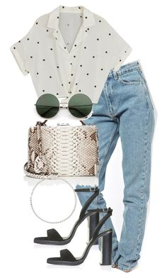 """Untitled #4229"" by theeuropeancloset on Polyvore featuring American Apparel, Topshop, Mark Cross and Sole Society"