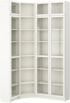 BILLY Bookcase Combination/crn Solution   White   IKEA REALLY Want The  Corner Bookcase!