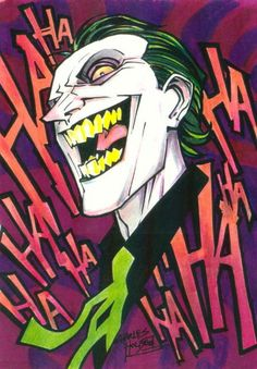 marker : The Joker by ~KidNotorious