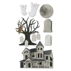 Jolee's Boutique® | Haunted House Stickers  $5.49